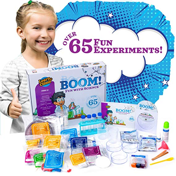 BOOM! Science Set with 60+ Experiments