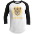 Hear Me Roar - Ladies 3/4 Sleeve Tshirt sportT