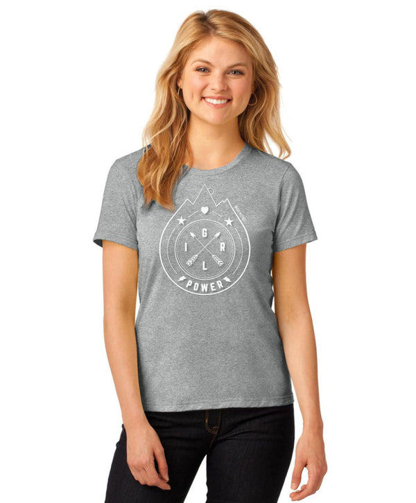 Girl Power Mountain Tee - For The Ladies