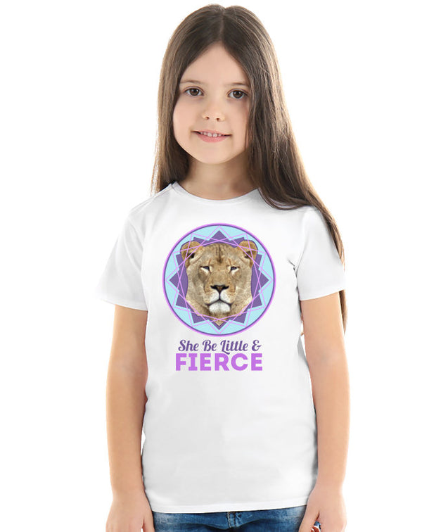 Fierce Little Lioness Purple Tee