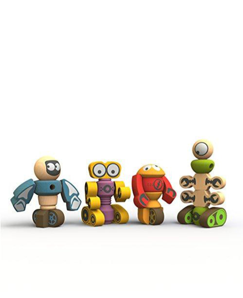 Build Your Own Robot - Tinker Tot Wood Set (3T-10Y)