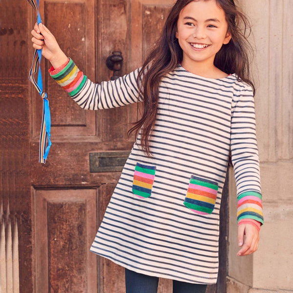 Stripe It Up Tunic (2T-7Y)