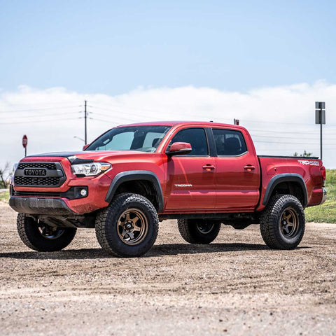 tacoma after lift and wheels