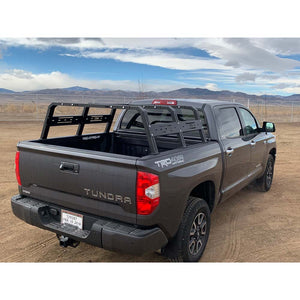 RCI Cab Height Adjustable Bed Rack - 2007-2020 Toyota Tundra
