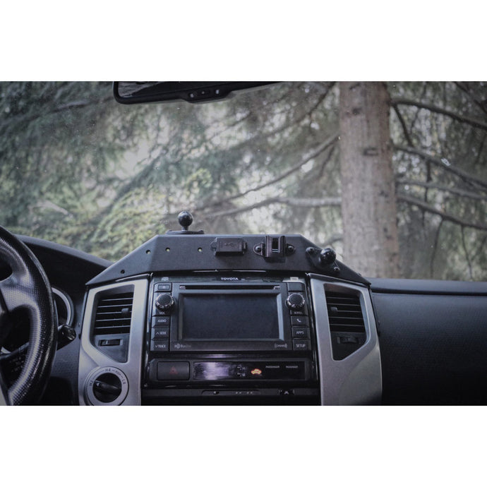 Expedition Essentials - Powered Accessory Mount (2TPAM) w/ Wiring Cover - 2012-2015 Toyota Tacoma