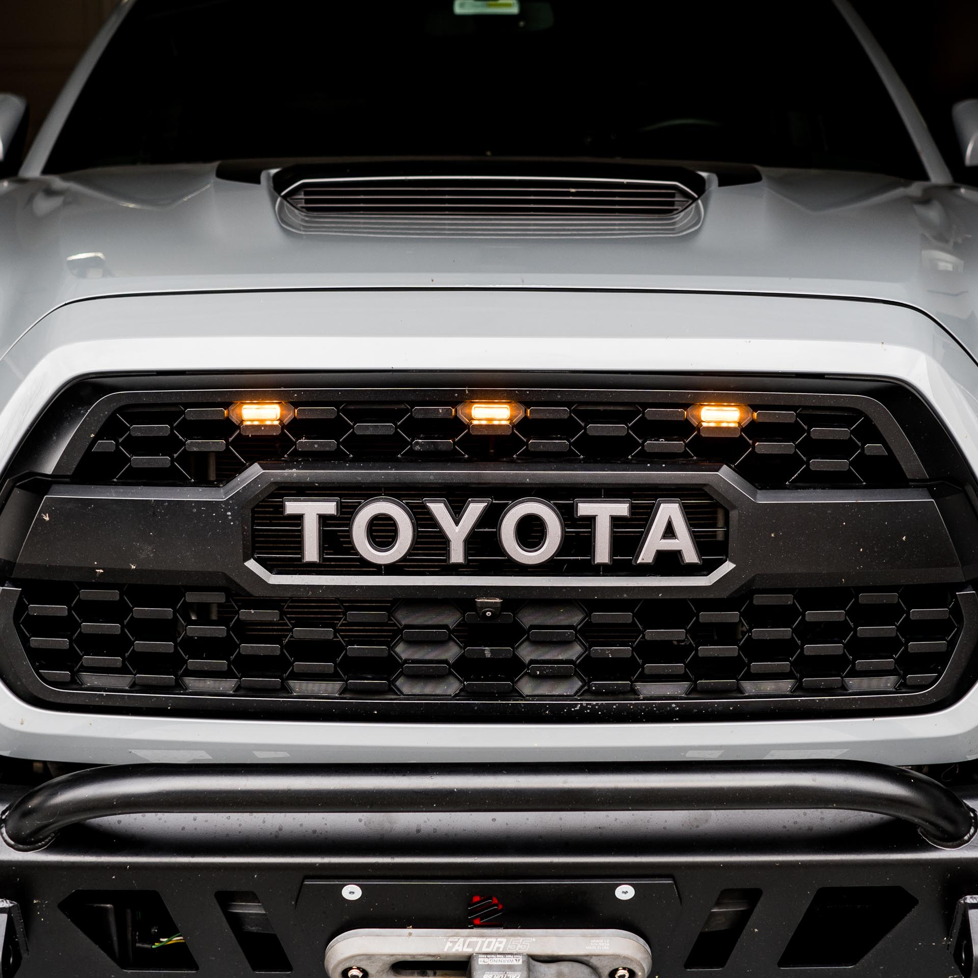 Grille Lights Kit 2016 2019 Toyota Tacoma Runnin 4 Tacos