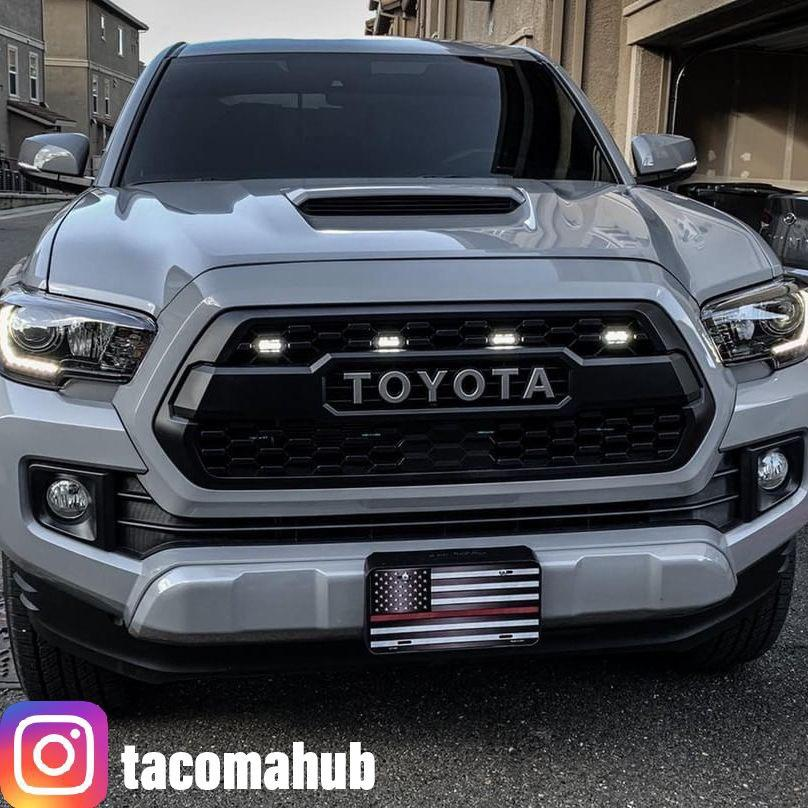 tacoma lights grille toyota trd raptor grill kit tacos runnin