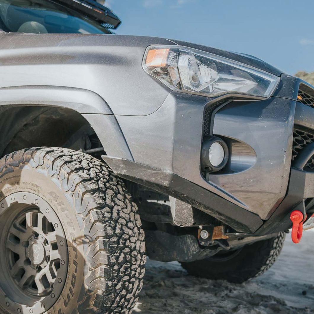 C4 Lo Pro Bumper High Clearance Addition 2014 2020 Toyota 4runner Runnin 4 Tacos