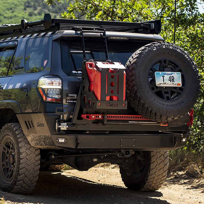C4 Overland Series Rear Bumper ( Dual Swing Arms - Includes Tire Carrier)2010-2020 Toyota 4Runner