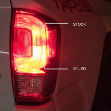 Load image into Gallery viewer, Tacoma Rear Brake Light RED 50 LED 7443 7443CK 7440