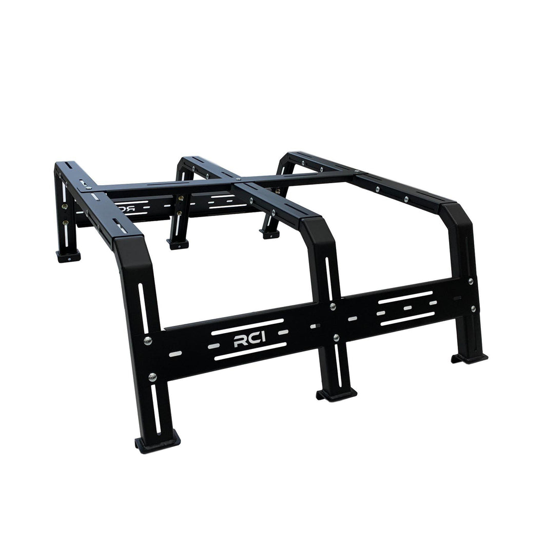 RCI Cab Height Adjustable Bed Rack for 2005-2020 Toyota Tacoma