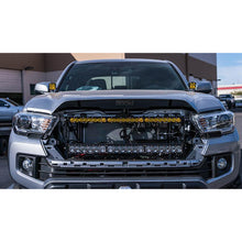 Load image into Gallery viewer, SDHQ Built Behind the Grille Dual LED Light Bar Mount - Toyota Tacoma (2016-2021)
