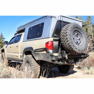 C4 Overland Series High Clearance Rear Bumper - 2016-2020 Toyota Tacoma