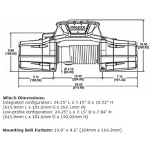 Load image into Gallery viewer, Warn ZEON 12-S Platinum Winch