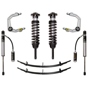 Icon - Mid Travel Suspension Kit - 2005-2020 Toyota Tacoma Lift Kit