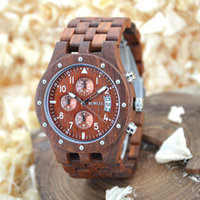 Luxury Wooden Sports Watch