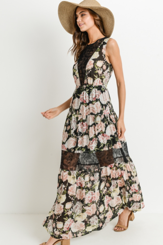 Isn't She Lovely Dress in Floral Print