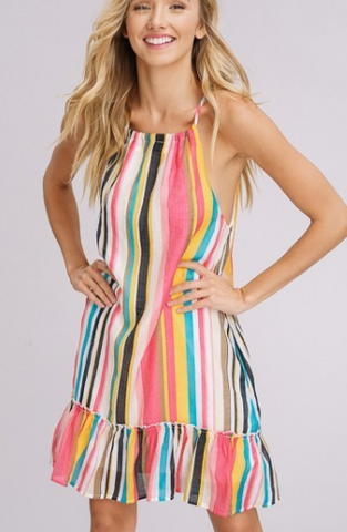 Down in Belize Dress