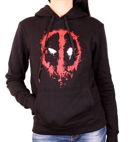 Sweat Deadpool Marvel Femme - Destroy Face