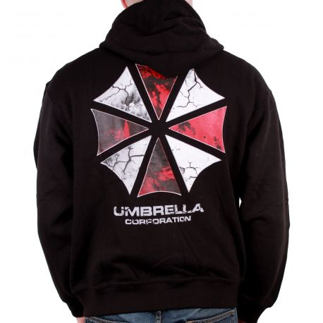 Sweat Zippe Resident Evil - Umbrella Corporation Logo