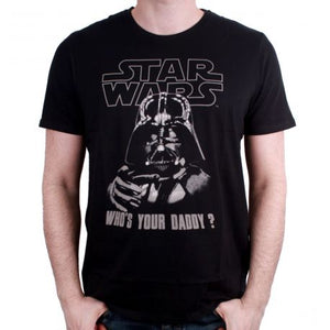 T-shirt Star Wars - Who's your daddy