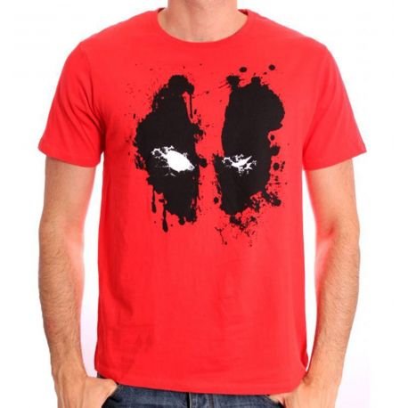 Tshirt Deadpool Marvel - Deadpool Paint