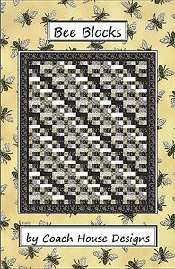 Bee Blocks Pattern