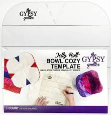 Gypsy Quilter Microwave Bowl Template