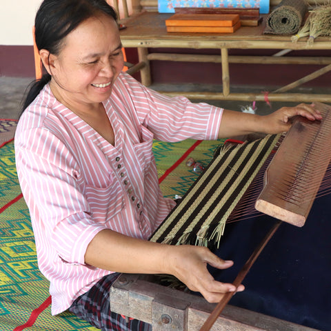 Weaving in Thailand
