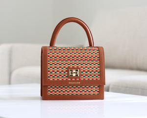 Mini Brown Small Pattern (MN01)