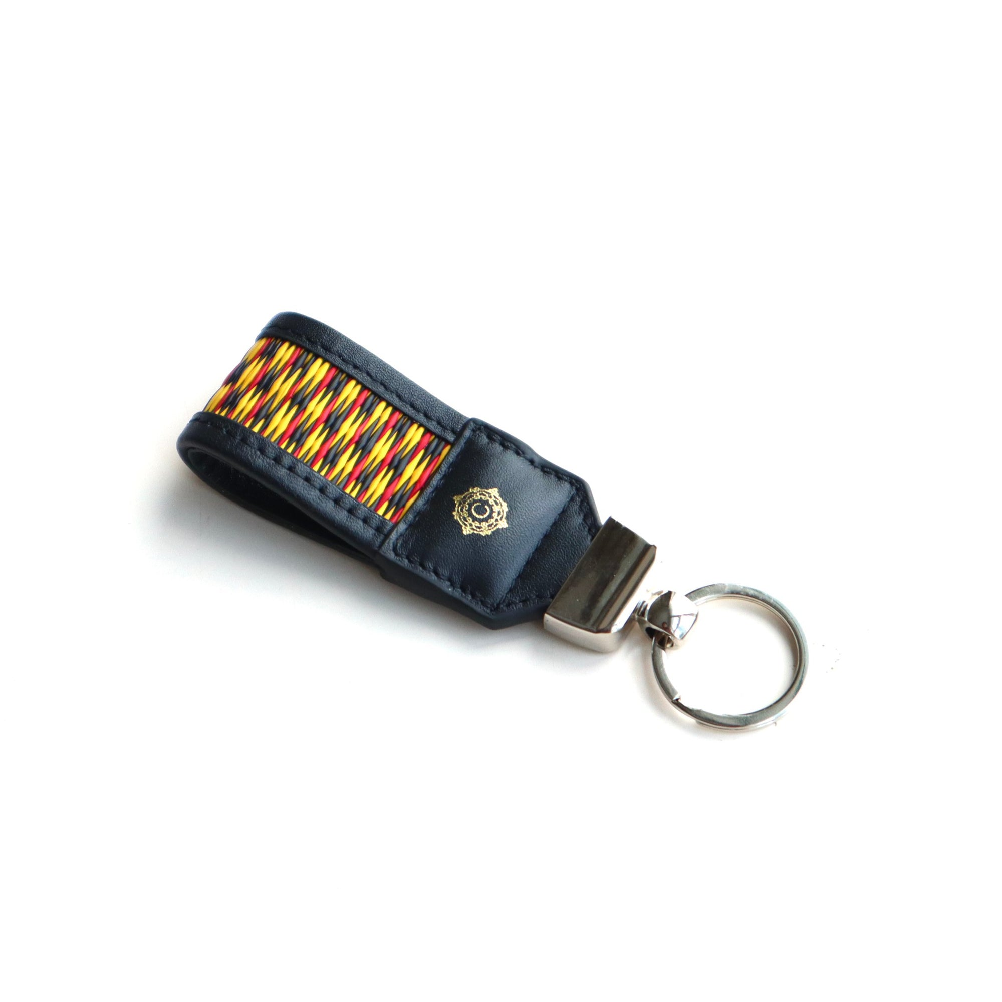 Mini Key Fobs - Black Yellow (M06)