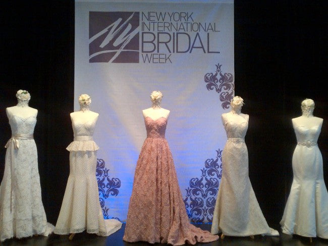 NEW YORK INTERNATIONAL BRIDAL WEEK – 7th Till 9th of October 2017