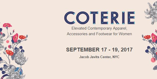 COTERIE NEW YORK – 17th Till 19th of September 2017