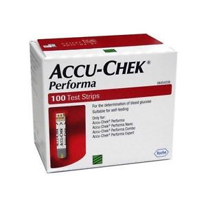 Accu-Chek Performa - 100 Test Strips. By order only.