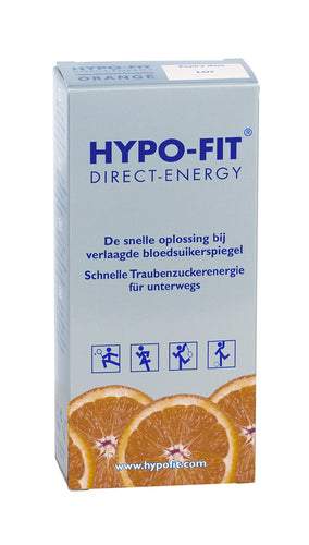 Hypo-Fit Direct Energy Sachet (Orange)