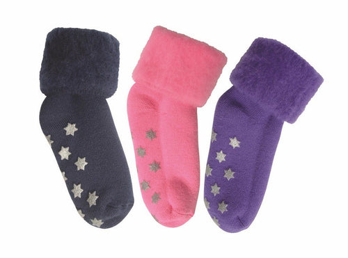 Bedsocks - Kids with Non-Slip Tread