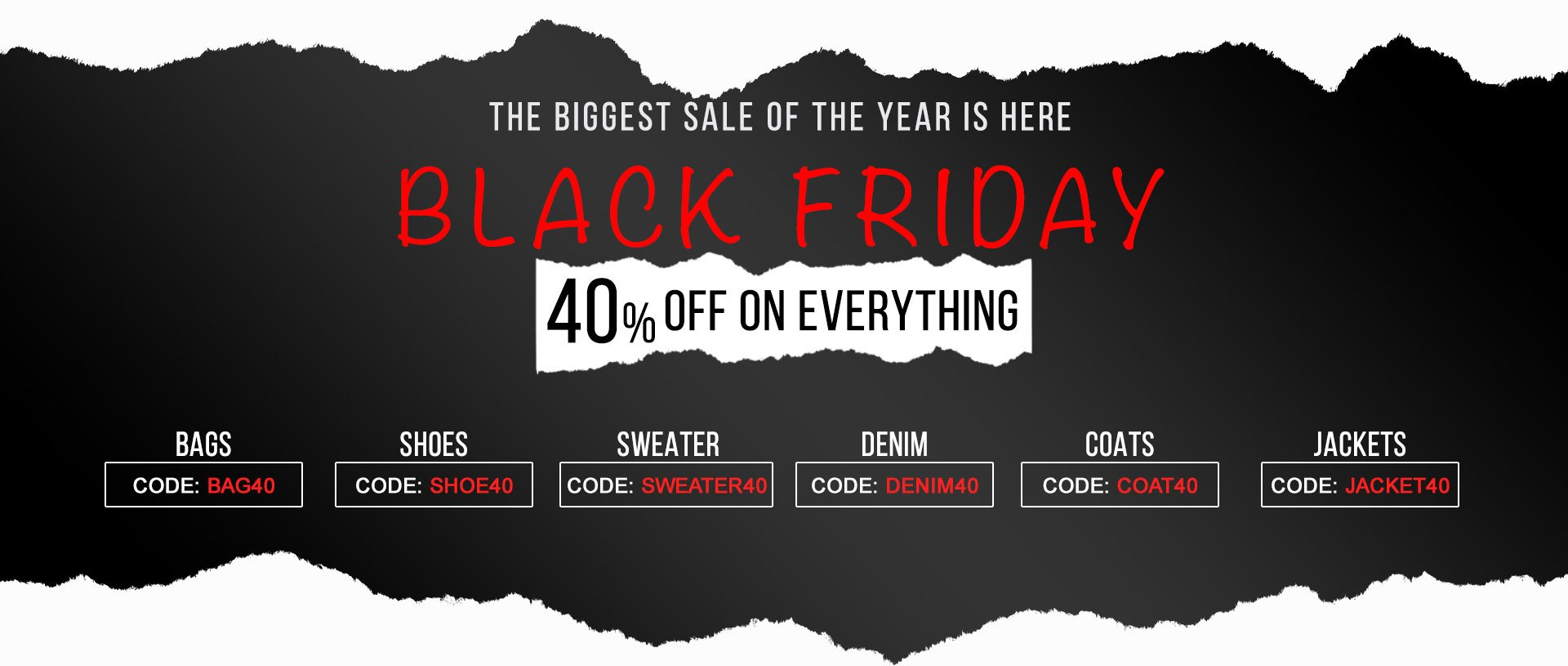 Black Friday Sales on Fashion Products You Can't Afford to Miss!