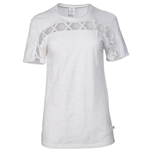White Crew Neck Short Sleeve T Shirt
