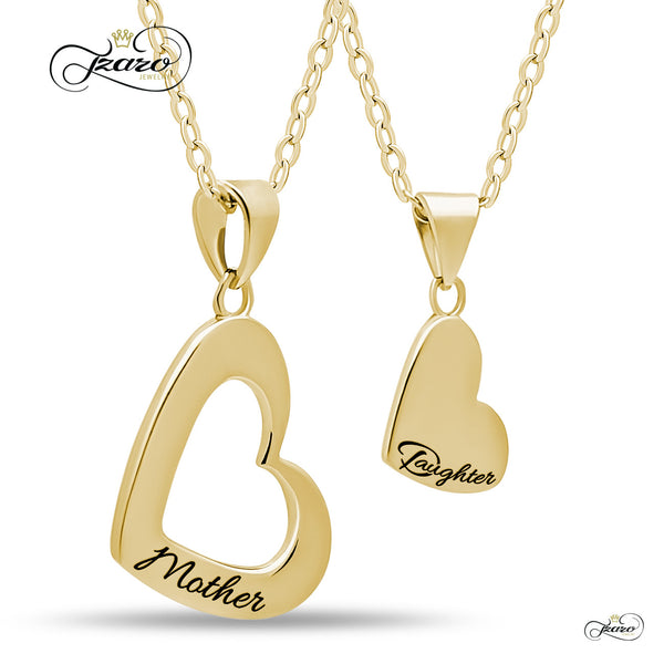 Gold Plated Chain Geometric Necklace Pendant Jewelry Set
