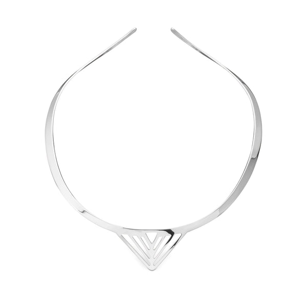 White Sterling Silver Necklace