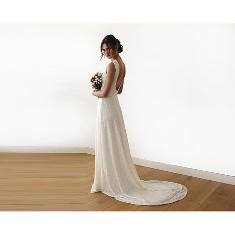 Wedding Dress With Train 118