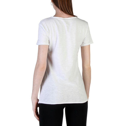 Carrera Jeans White Sleeves Short T-Shirt