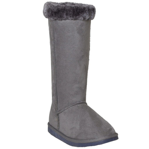 Gray Mid Calf - Fashiontage