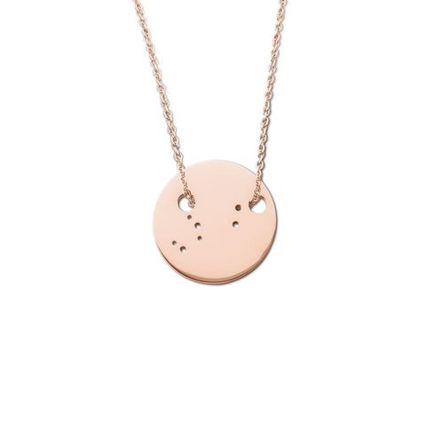 Rose Sterling Silver Chain Necklace