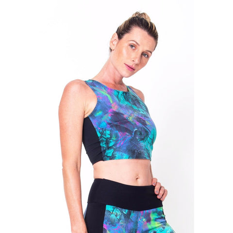 Under The Sea Ana Sports Bra