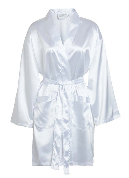 Crepe Satin Robe Loungewear
