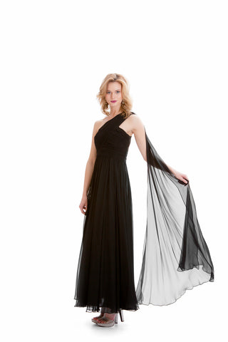 Bridal Dresses - Women's Trendy Black Dress