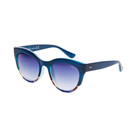 Made In Italia Blue Nylon Sunglass