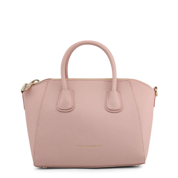 Trussardi Pink Leather Handbag
