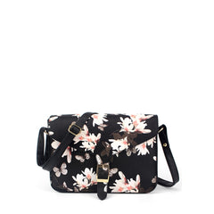 Flower Printed Crossbody Bag - Fashiontage